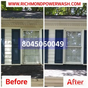 Richmond_Power_Wash_gutter_whitening and cleaning
