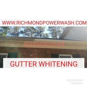 Richmond_Power_Wash_gutter_whitening mechanicsville va