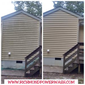 Richmond Power Wash house siding 23227