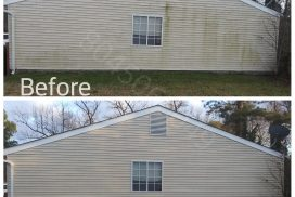 Richmond Power Wash house siding cleaning Chesterfield VA