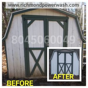 Richmond Power Wash House ClRichmond Power Wash Shed Cleaning In Chesterfield, VA 23236
