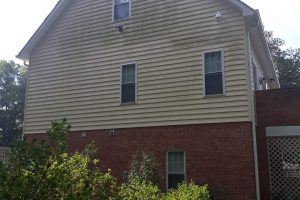 House Power Washing Before Picture in Sandston, VA 23231